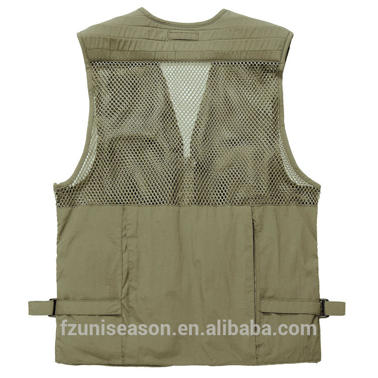 Men custom fishing vest