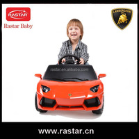 CE approved Lamborghini 6v 1 motor ride on toy electric battery car toy for baby