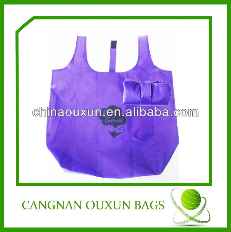 reusable 210T polyester shopping bag