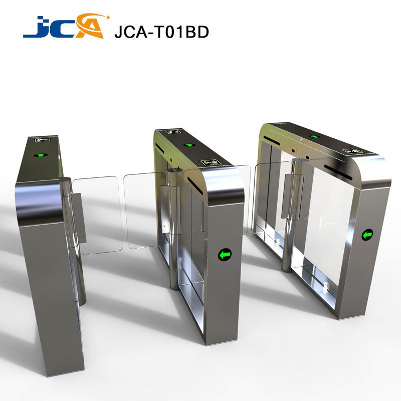NO VOICE Building Security Access Control Management 0.4sec high speed barrier gate