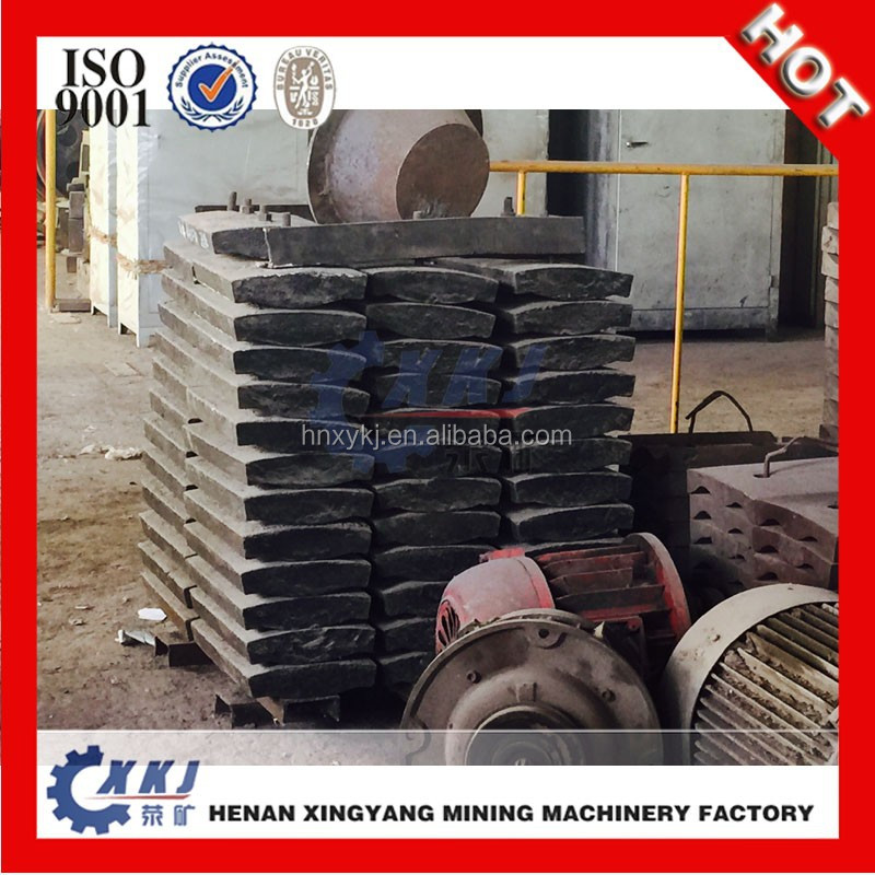 Steel liner for ball mill machine / ball mill spare parts with CE quality