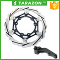 Stainless steel wave folding motorcycle disc for Honda CRF250R 450R