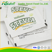 Stevia & Erythritol blends in sachets same sweetness as sugar
