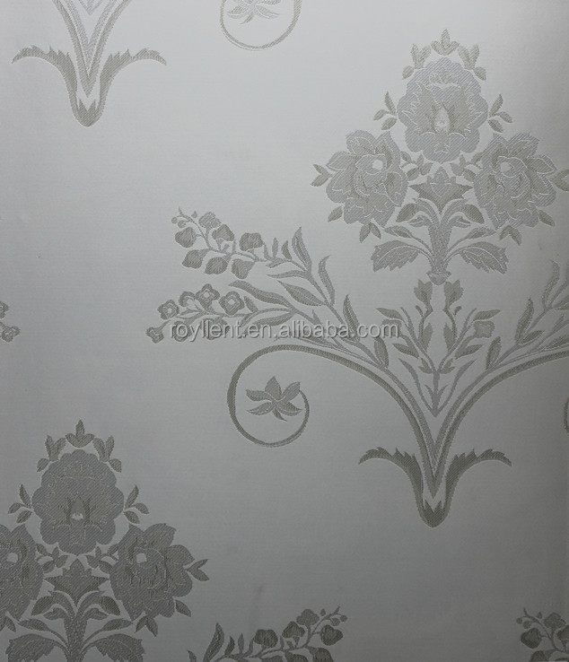 seamless luxurious wall fabric with large flower