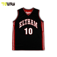 woman basketball jersey and short design color black
