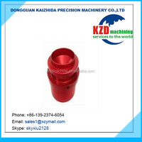 Color anodized precision turning machine parts