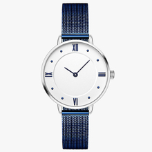 2018 New Wholesale Price Stainless Steel Movt Quartz Fashion Hand Watch for Girl