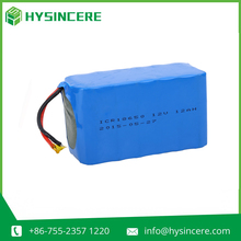 Competitive price high quality Series and Parallel connection Li-Ion Type battery pack 12v 12ah