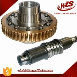 High Precision Customized Copper Worm Gear And Worm Wheel For Metallurgical Machinery Manufacturing