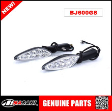 NASAKI brand motorcycle accessories steering lights for Qianjiang motorcycle parts BJ600GS turn signal signal lights for Benali