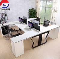 T Shaped Office Desk White Office