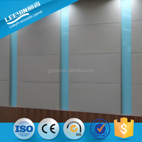 Glass Fiber Panels Fabric And Cloth Wall Anc Ceiling Covered Acoustic Panel
