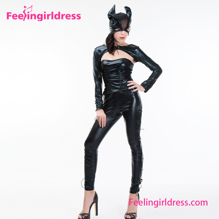 Sex Catsuit Adult Latex With Mask Halloween Animal Costumes
