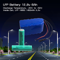 Lifepo4 battery 12.8v 20ah battery pack victpower