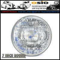 7 INCH ROUND Halogen Sealed Beam Auto Head light 6014 7010 6024