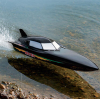 2.4G Large size remote control RC BOAT 4CH 40KM/H Speed boat in 72.5 cm model
