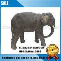 Custom Life Size Large Resin antique elephant statue For Sale