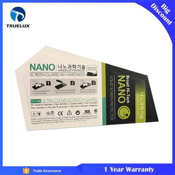 Hot Sale Products Liquid Glass Screen Protector Nano Technology