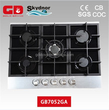 Chinese Zhong Shan Gas Stove Tempered Glass Panel