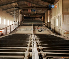 Gypsum drywall manufacturing process/gypsum board making machine/gypsum board production line in China
