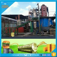 Selling well in India High oil yield waste tire pyrolysis plant to oil price with ISO 9001