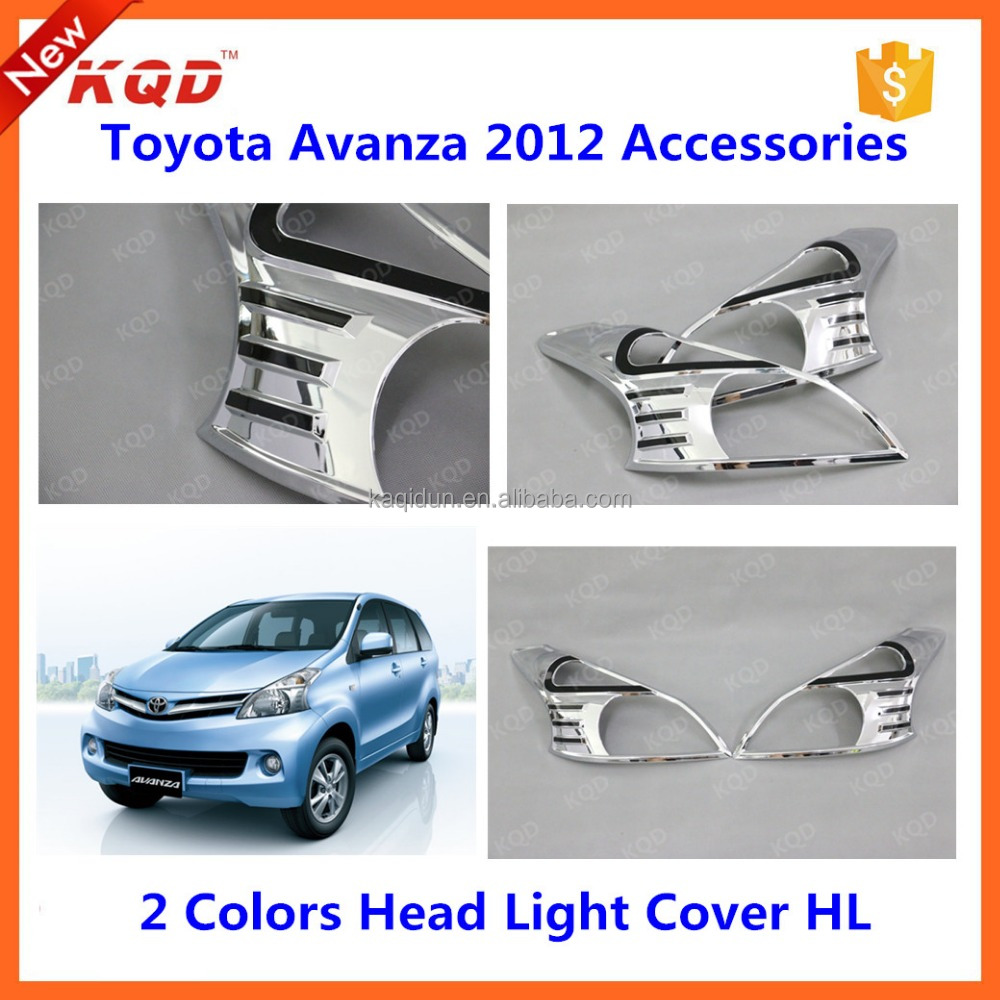 toyota avanza xenia 2012 head light cover lamp cover for avanza parts front back light frame for avanza