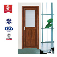 aluminum cladding wooden main door designs with wood look color/entry door