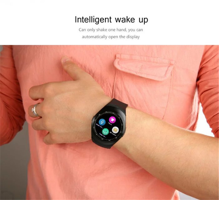 New Style GSM Phone Call Bluetooth Smart Watch Y1 With Camera facebook Support Smart Watch
