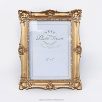 Up-market gold picture frame for weeding souvenirs