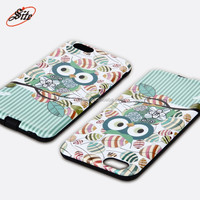 Hot selling Fancy Cheap Color Printed PC+TPU Mobile Phone Case for iPhone 6g