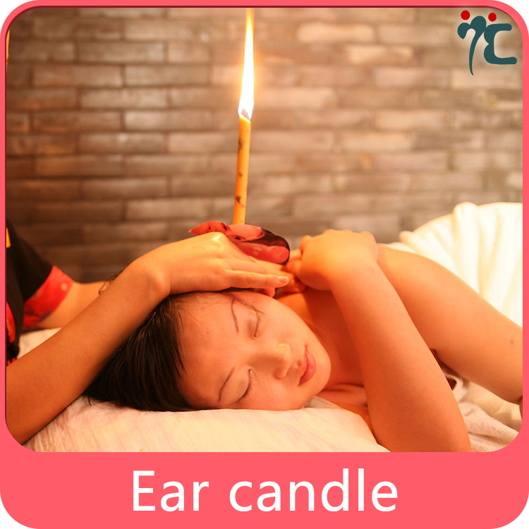 natural indian ear wax candle