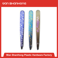 New arrival personalized rubber plastic eyebrow tweezers