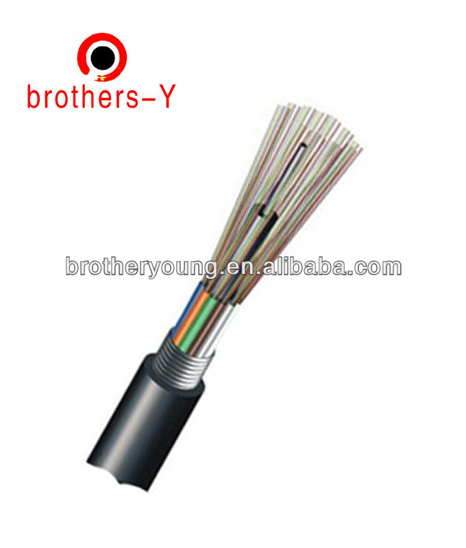China Mobile/Telecom Used 24 48core fiber optic cable outdoor