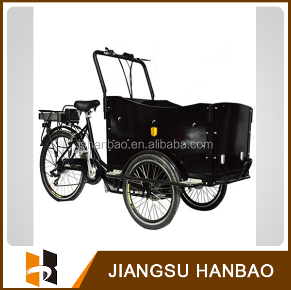 2015 hot sale adult electric bakfiets/cargo trike with CE Quality