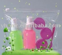 lovely cosmetic travel bottle set