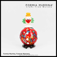 Murano glass clown figurines Unique birthday gifts for best friend