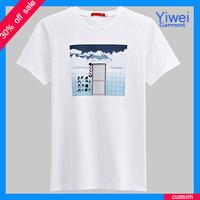 China custom high quality printing tshirts urban t shirts