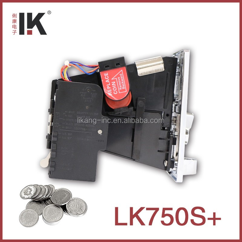 LK750S+ Coin acceptor widely used in coin-operated tire inflator
