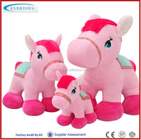 wholesale stuffed large horse toy for girls