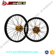 Hot Sale! Chinese Manufacture Produced COLORFUL SPOKES ASSEMBLIED WHEELS USED FOR RMZ 250 450