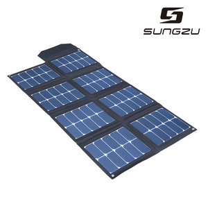 120w outdoor high efficiency portable folding solar panel charger for laptop/notebook/car battery/tablet pc