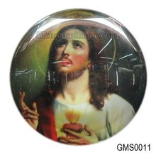 Fashion religion fridge magnetic crystal sticker new design for 2012