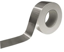 UL Classified Aluminum Foil Tape Seals Fiberglass Board Duct Joints Wrinkle-Free Conforms to Surface Irregularities