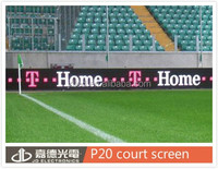 SMD/DIP P6/P8/P10/p16/P20 court LED screen one-side cabinet