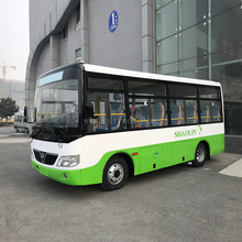 China low price 4 tires 6m 18 19 20 21 22 seats two doors short distance mini city bus for sale