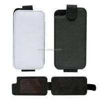 Leather folding cell phone case for iphone