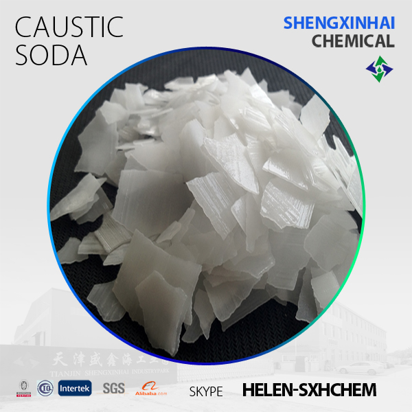 Naoh Caustic Soda Flakes Price 99% 96% 92% 70% CAS NO. 1310-73-2