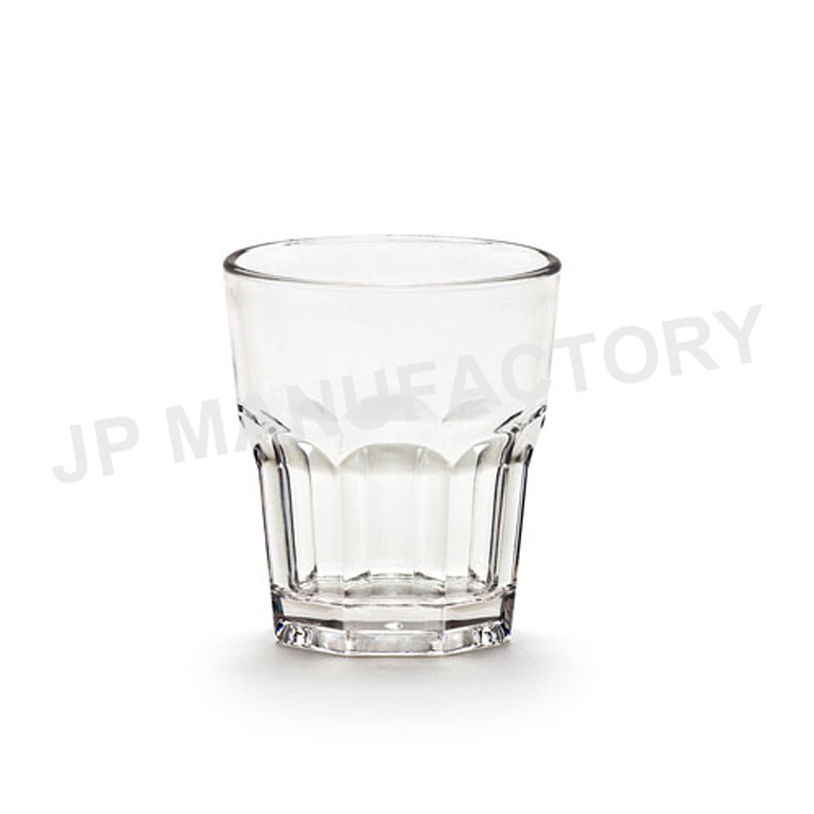 Hot sale polycarbonate plastic rock <strong>glass</strong>/8oz old fashioned tumbler