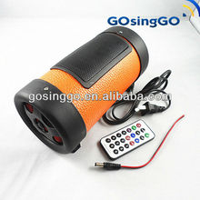 4 inches waterproof speaker with remote control