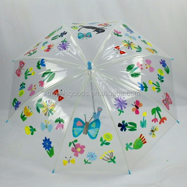 Umbrella with kawaii pattern for sale